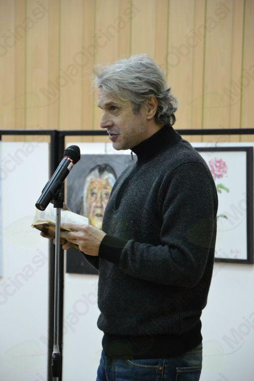 Na nekaj Prešernovih pesmi je spomnil dramski igralec Milan Štefe.