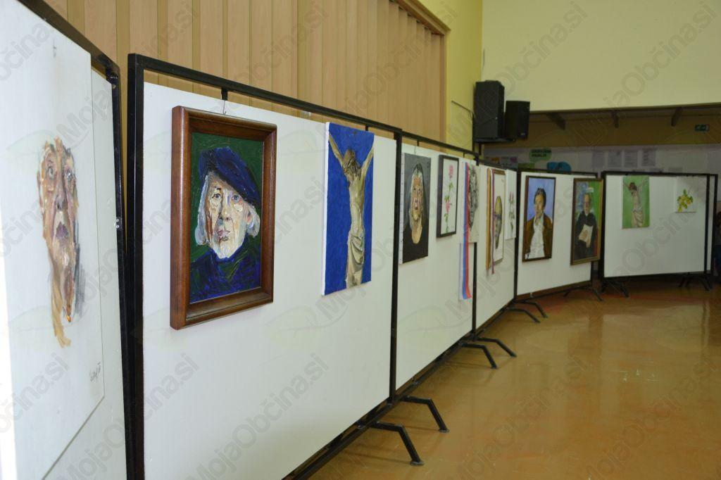 Izsek slik z letošnje razstave
