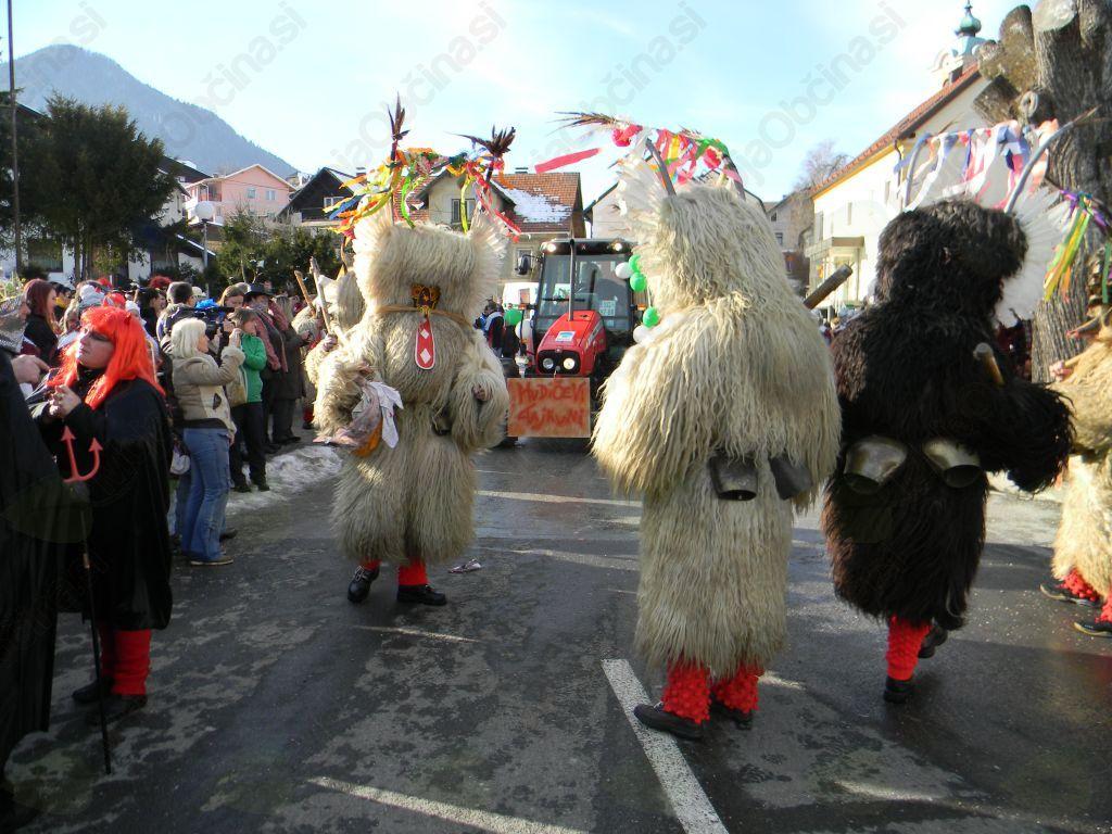 Zahvala pri organizaciji Pustnega karnevala v Mežici 2012