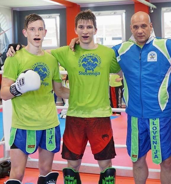 Žan Podboršek, Dejan Zarić in Andrej Sande