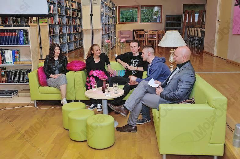 Dijaki medijske šole s filmom Najdena