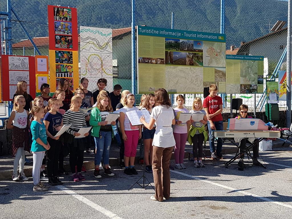 Slovesno odprli varno pešpot v Kobaridu