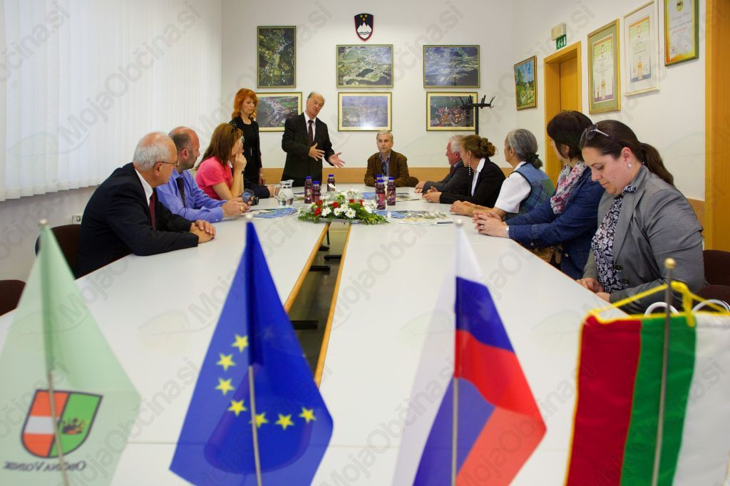 Županov sprejem bolgarskih gostov