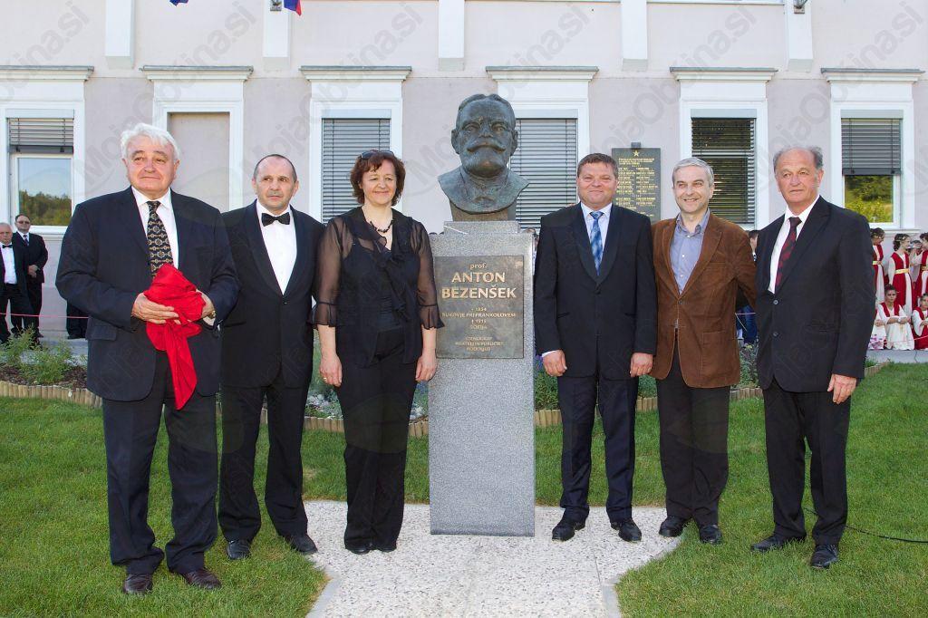 Ključni slovenski in bolgarski akterji postavitve spomenika