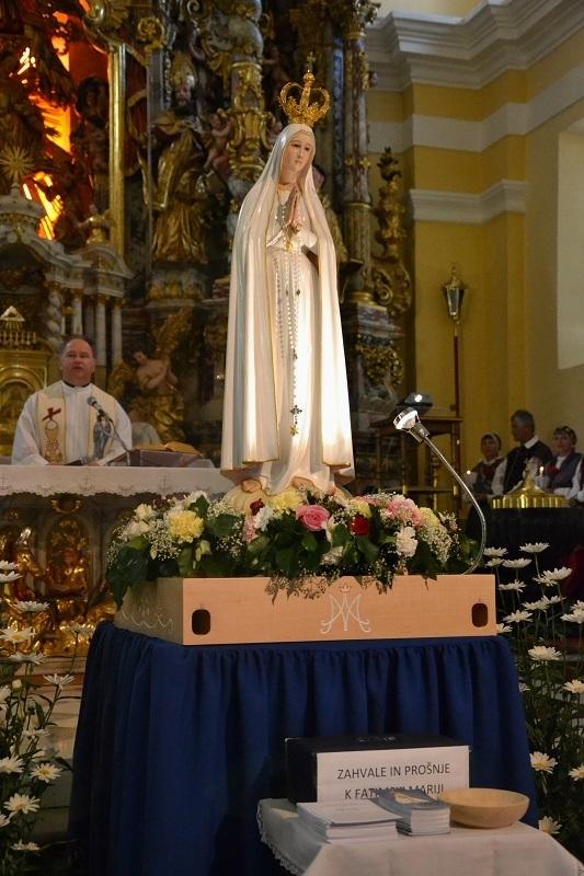 Obisk fatimske Marije romarice