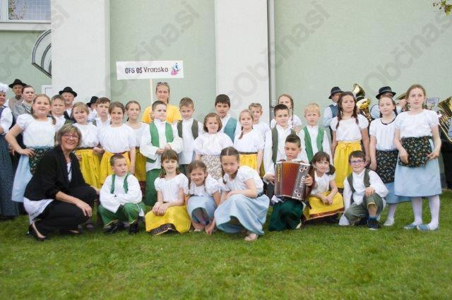 Prvi Mednarodni folklorni festival  ob 10-letnici delovanja Folklornega društva Vransko uspel