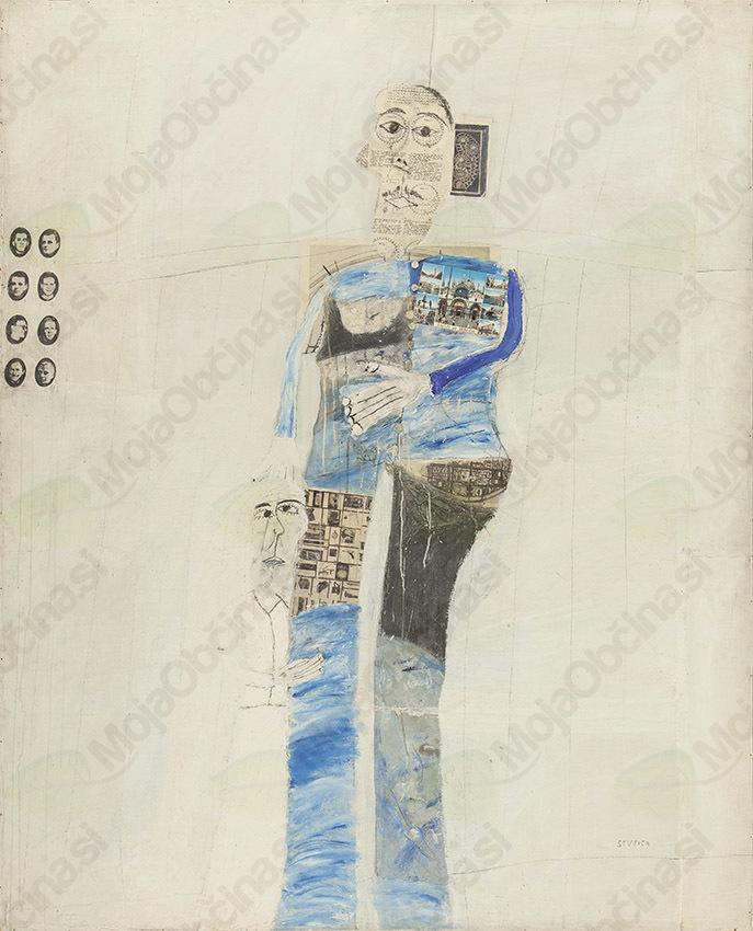 Mušič Pregelj Stupica skupaj v Pilonovi galeriji