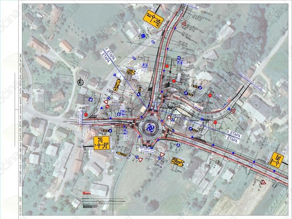 Nadaljevanje gradnje - rekonstrukcije državne regionalne ceste R3-710/1292 v Sp. Dupleku