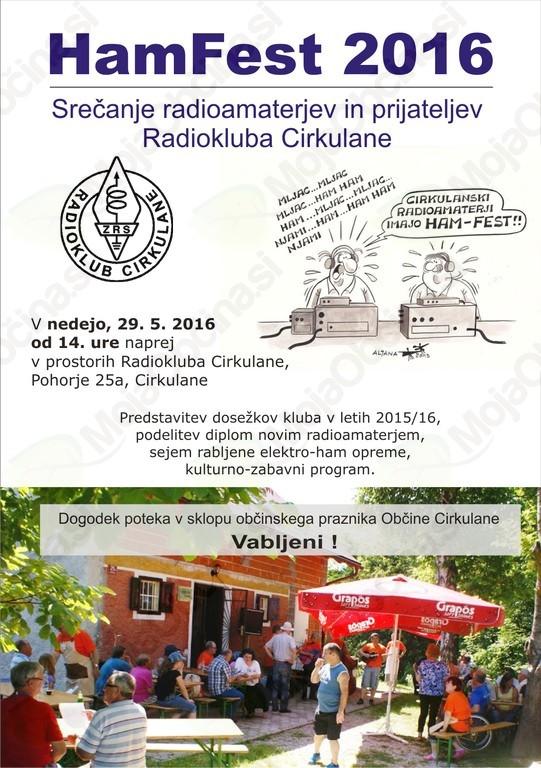 HamFest 2016 - Radioklub Cirkulane