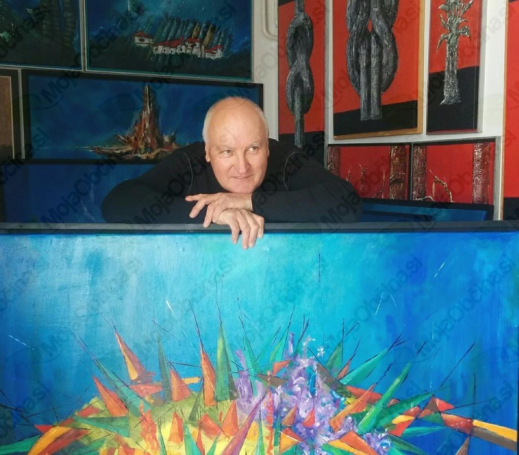 Igor Zimic v svojem ateljeju, foto: osebni arhiv