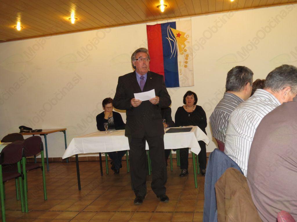 Jože Vrabič, predsednik ZB za vrednote NOB Slovenj Gradec