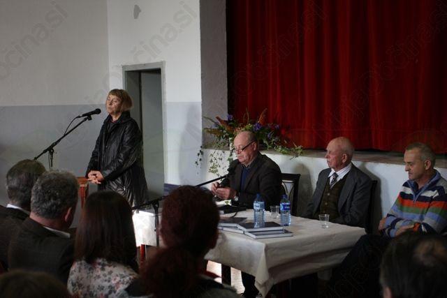 Prva predstavitev knjige v Ligu.  Foto: Toni Dugorepec
