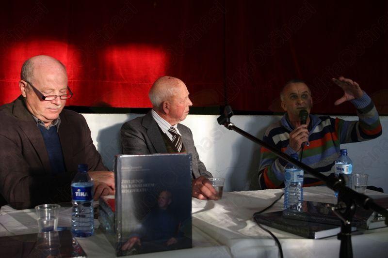 Slavko Jereb, Franc in Zoran Jerončič. Foto: Toni Dugorepec