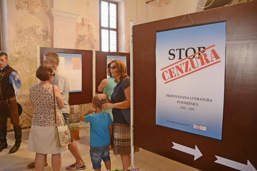 Razstava Stop, cenzura!