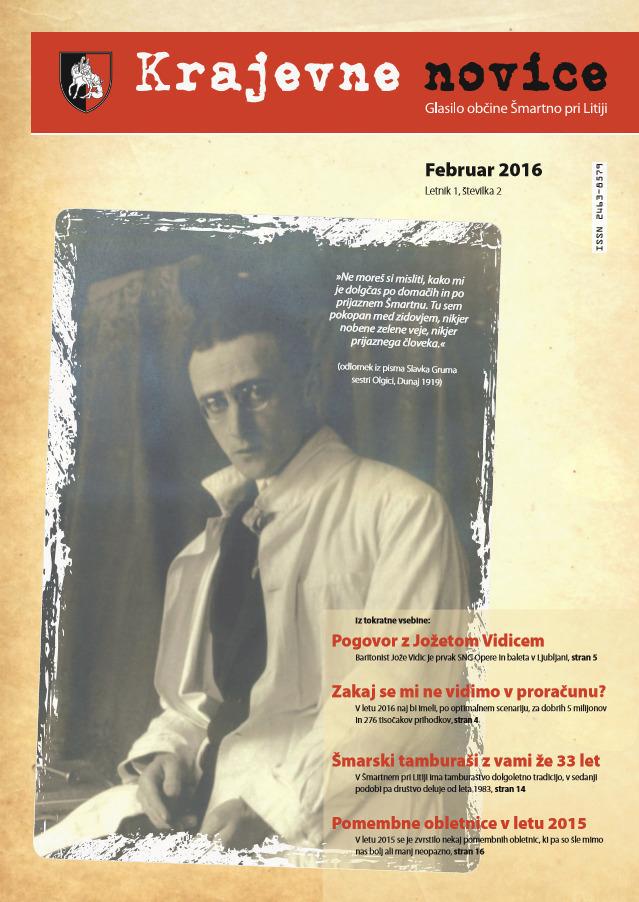Krajevne novice - februar 2016