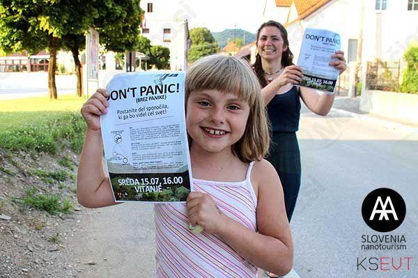 DON'T PANIC! Brez panike!