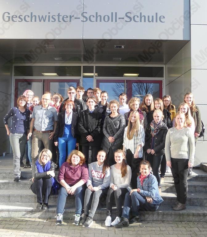 Dijaki Škofijske gimnazije Vipava na izmenjavi v Nemčiji