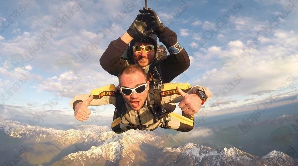 4000 metrov nad Bovcem