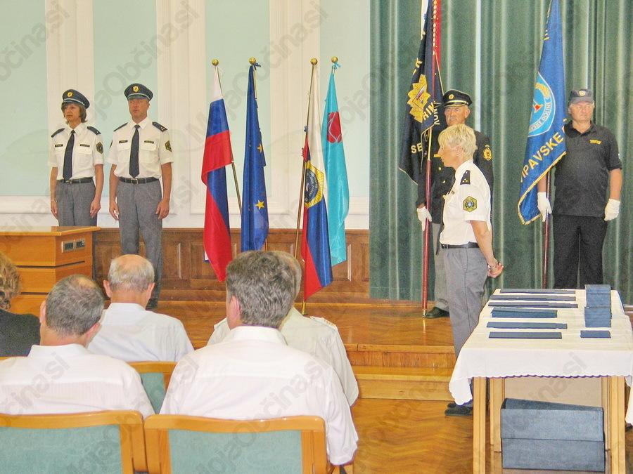 Proslava Policijske uprave Nova Gorica ob Dnevu slovenske policije