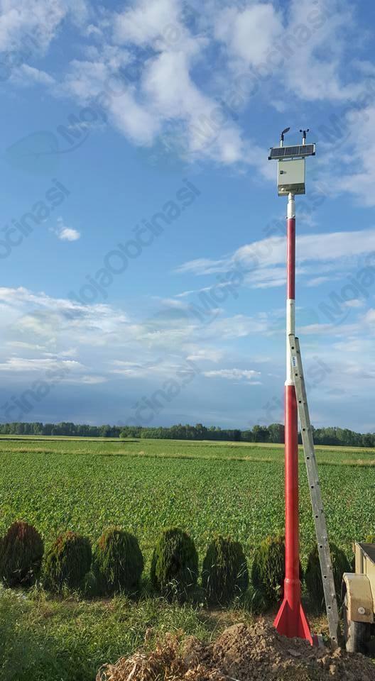 Avtomatska meteorološka postaja v Veržeju