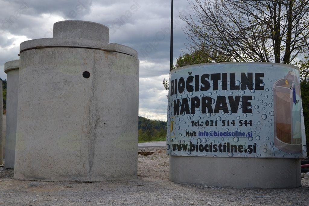 Na Lesnem Brdu postavili že enajst bioloških čistilnih naprav