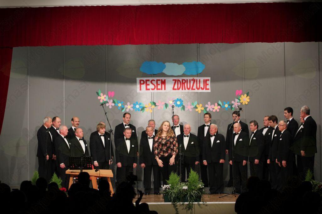 Prvi del koncerta je vodila Janja Belej.