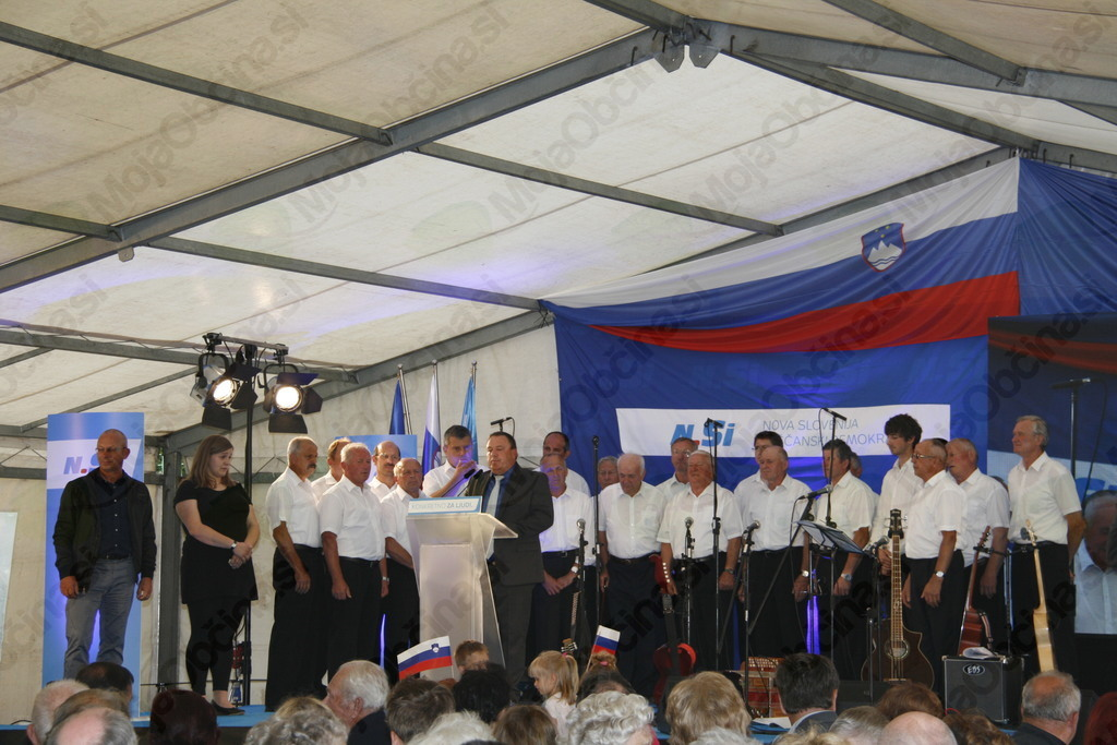 Tabor Nove Slovenije krščanskih demokratov v Vojniku