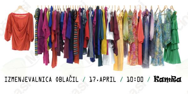 Akcija 'Prezračimo omare - jesenska izmenjava oblačil'