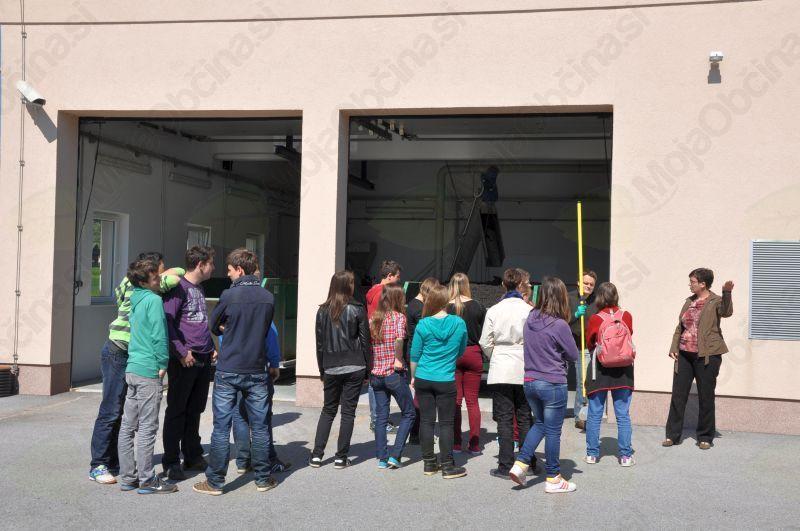Na ogledu Čistilne naprave Sevnica