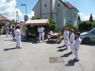 Karate klub iz Domžal se predstavi