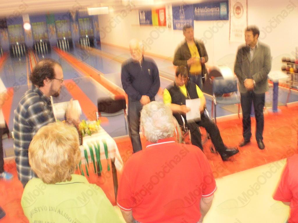 Državno prvenstvo invalidov v kegljanju posamično