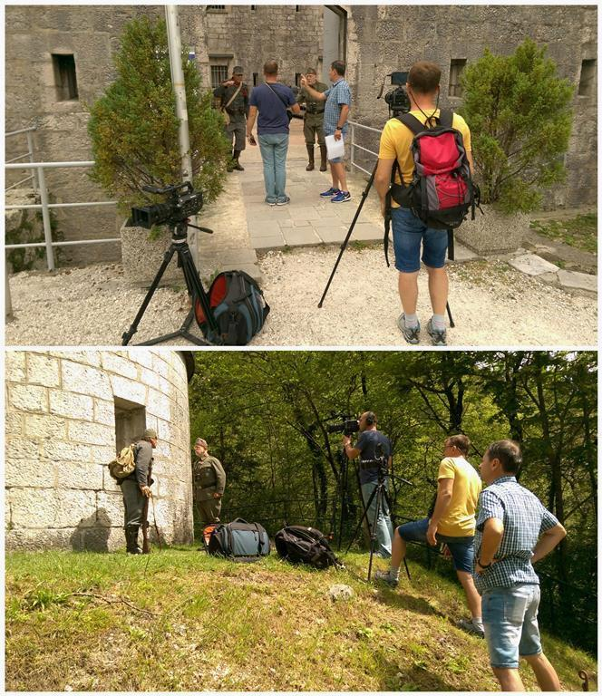 TV Al Jazeera Balkans na Poti miru od Alp do Jadrana