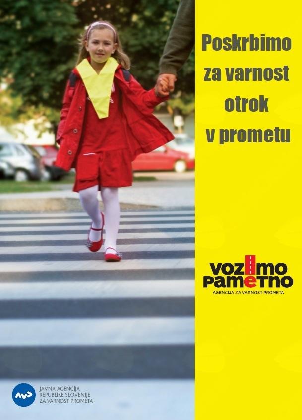 Poskrbimo za varnost otrok v prometu