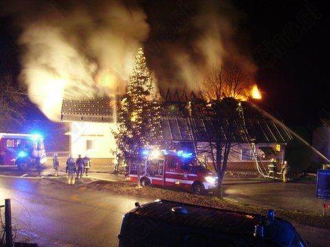 Takole je gorelo konec decembra 2014.