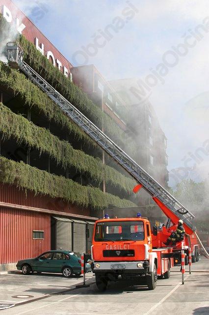 Vaja evakuacije v primeru požara