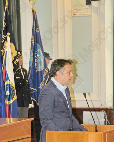 Pozdravne besede udeležencem slovesnosti je namenil tudi župan Mestne občine Nova Gorica Matej Arčon.