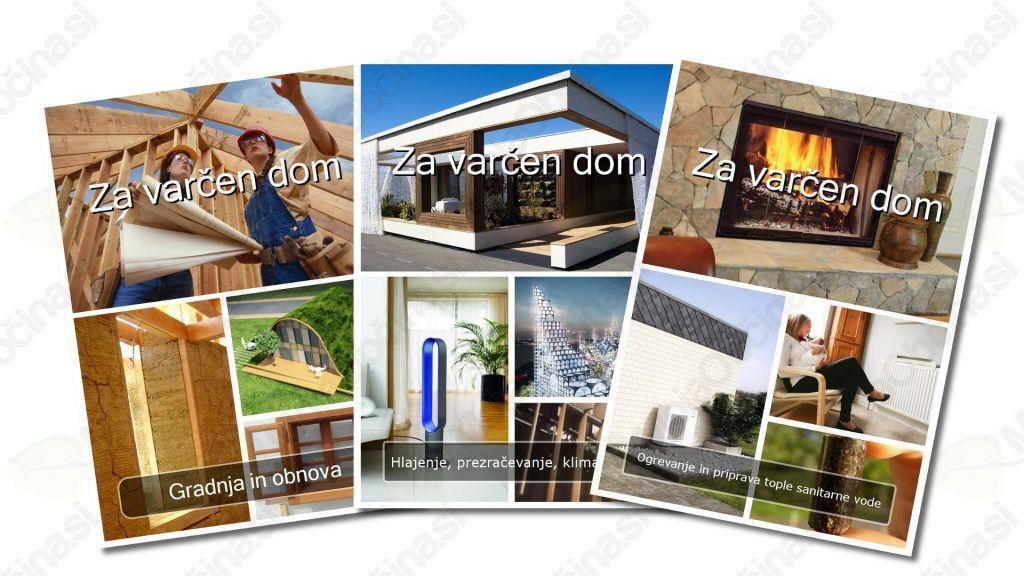 E-priročniki Za varčen dom vsebujejo številne nasvete za zelen in varčen dom.