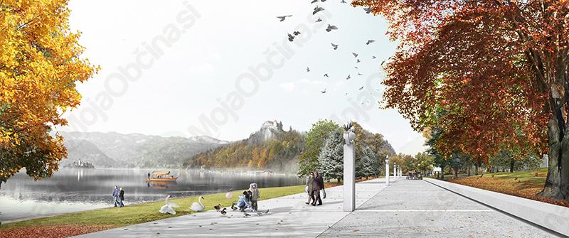 Natečaj za ureditev Jezerske promenade