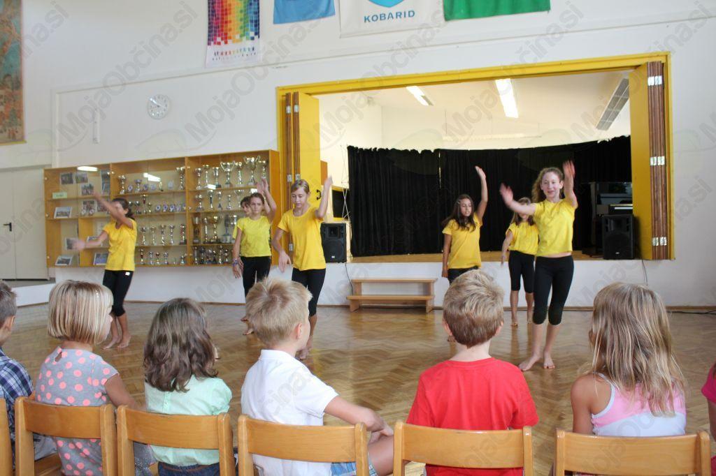 Plesalke Plesne šole Urška. Foto: Nataša Hvala Ivančič