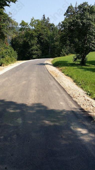 Končana II. faza rekonstrukcije lokalne ceste Vransko-Tešova