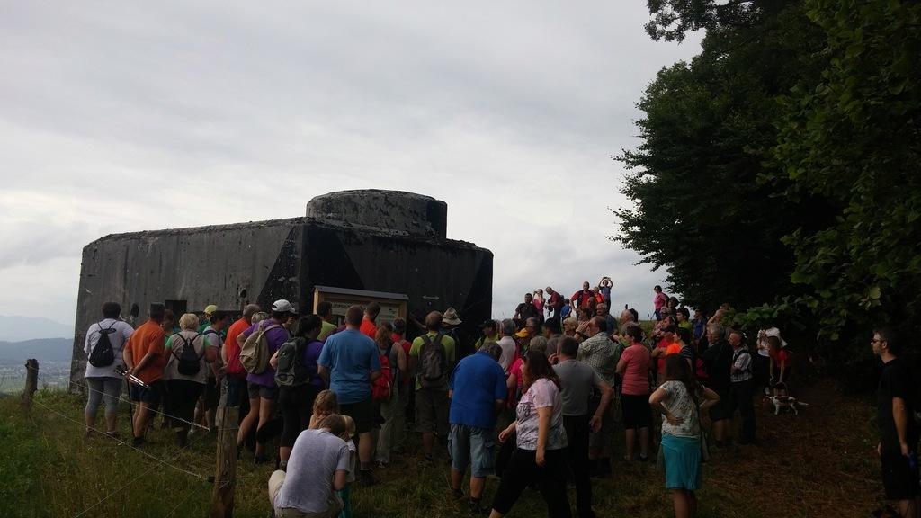 """Na Zaplani odprli tematsko pot """"Rupnikova linija"""""""