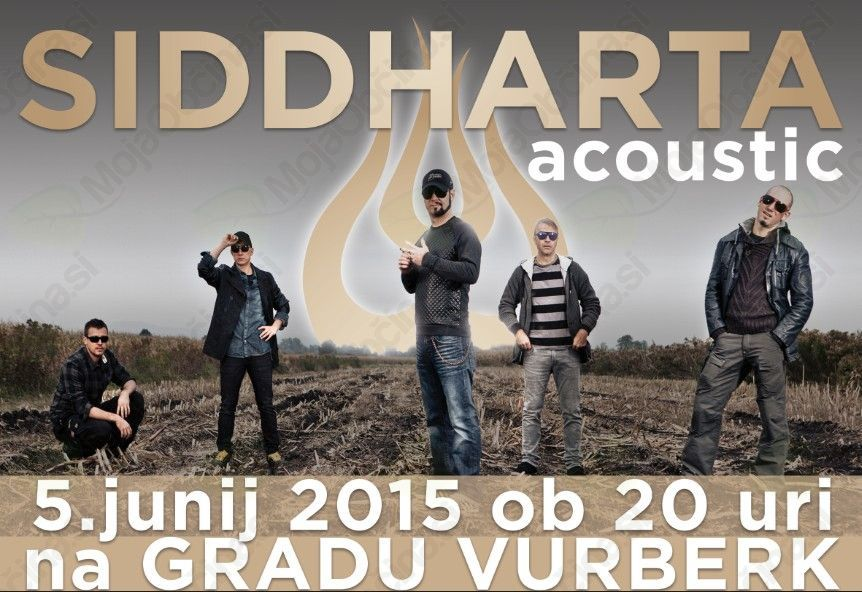 Prestavljen koncert Siddharte na 5.6.2015