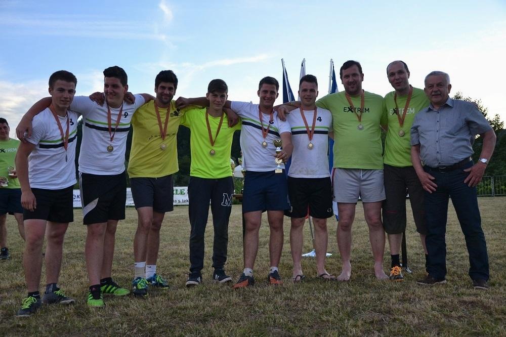 3. mesto – ekipa Vrzdenec