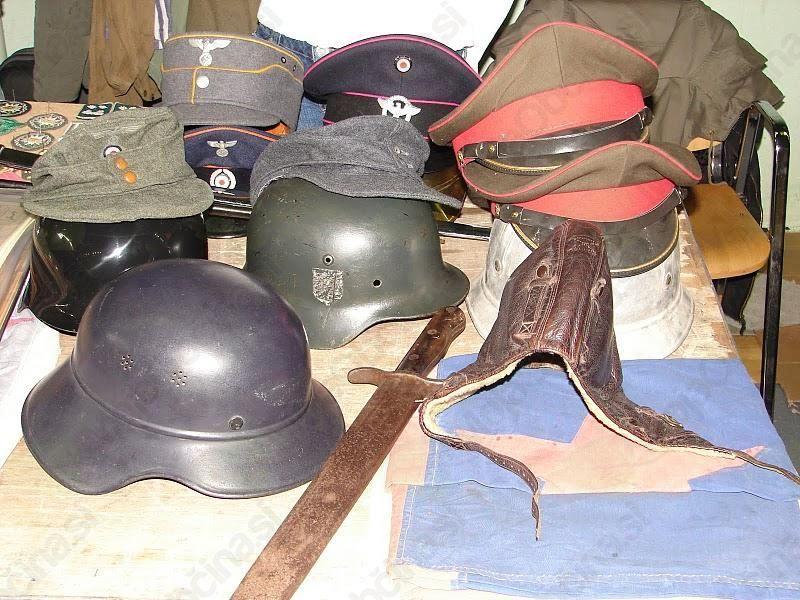 Vabilo na srečanje zbiralcev stare vojaške opreme