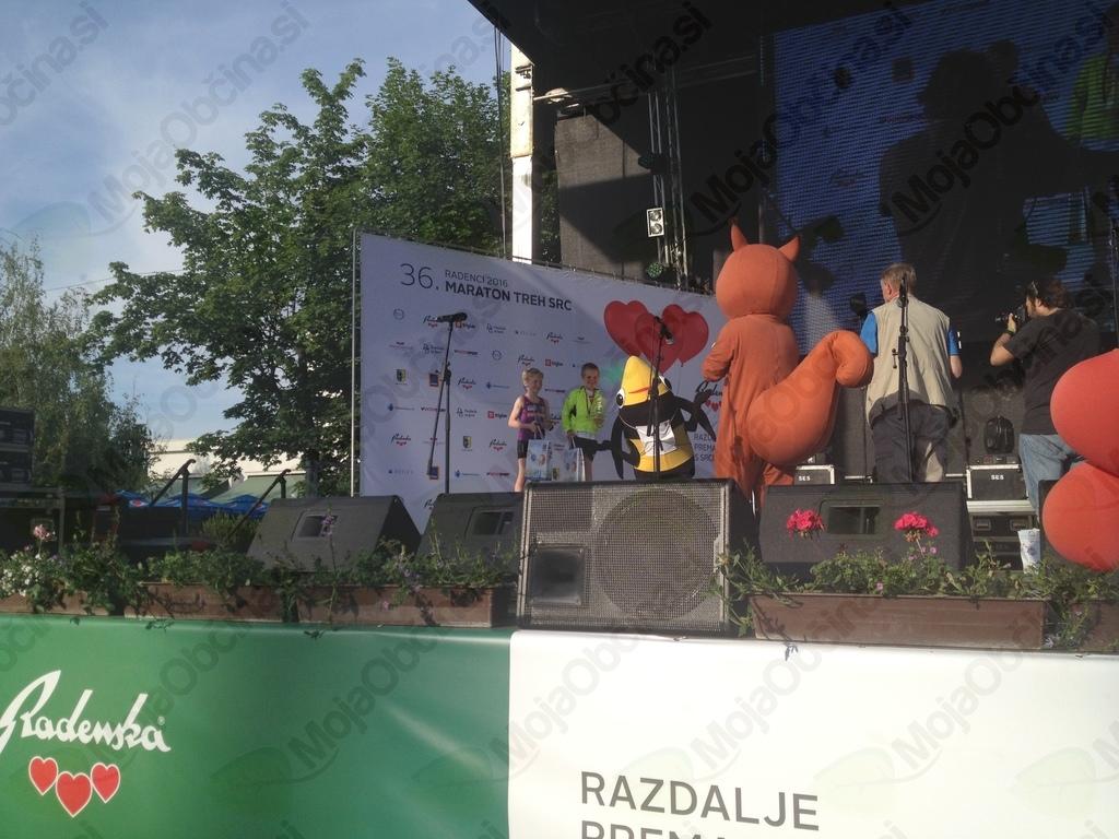 Tim Krašovec, drugo mesto na veveričkinem in srčkovem teku