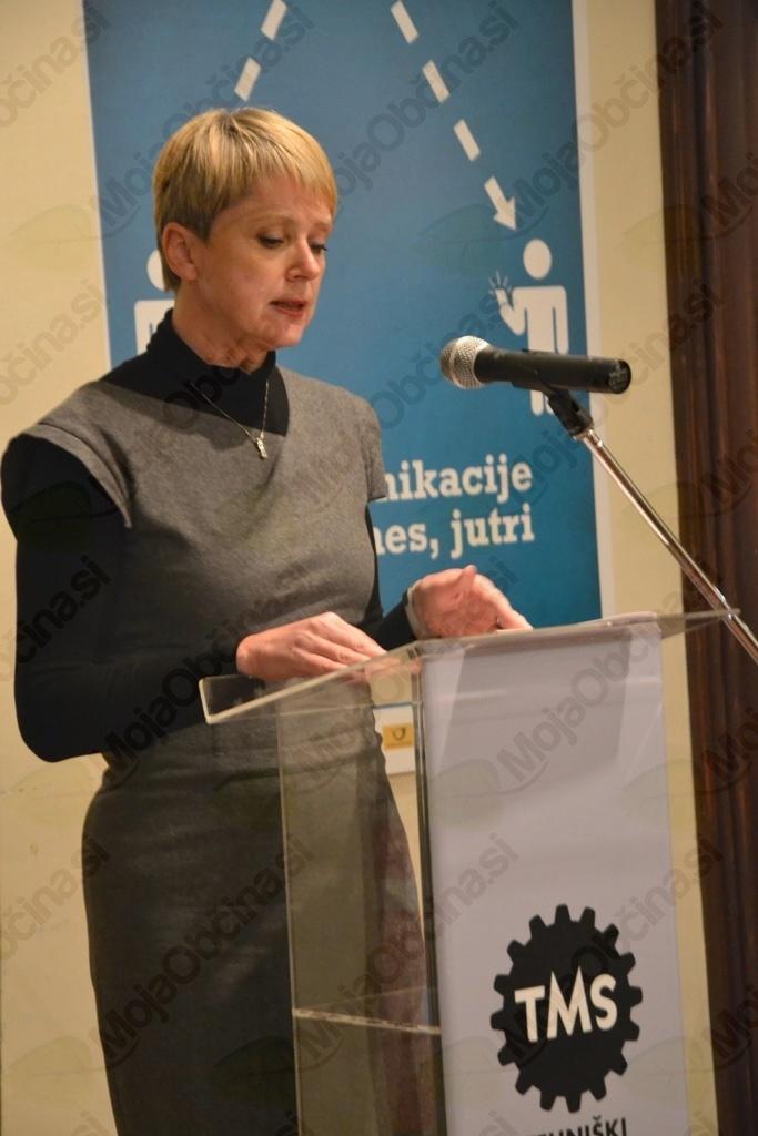 Direktorica Tehniškega muzeja Slovenije Natalija Polenec
