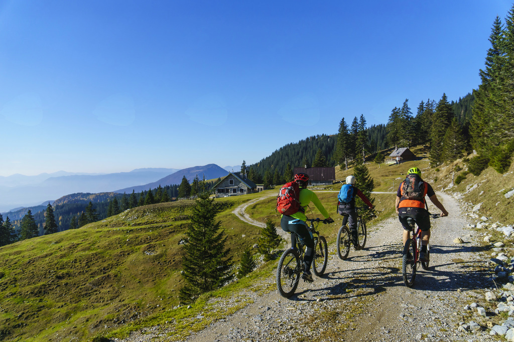 Tržič ima urejene kolesarske poti (foto Uroš Švigelj)