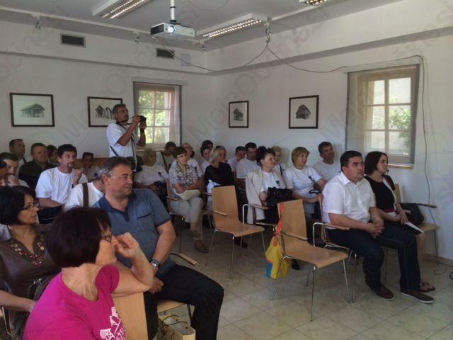 Udeleženci javne predstavitve projekta REMIDA, dne 7. 6. 2014