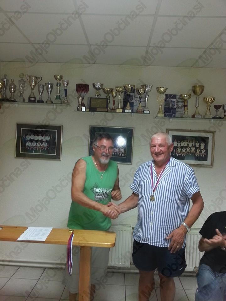 Ivan Korošec in Marko Skopljakovič, 2. mesto v 1. kategoriji