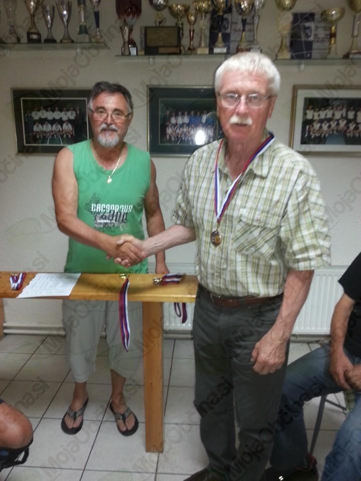 Ivan Korošec in Vlado Oder iz Mislinje, 3. mesto v 2. kategoriji
